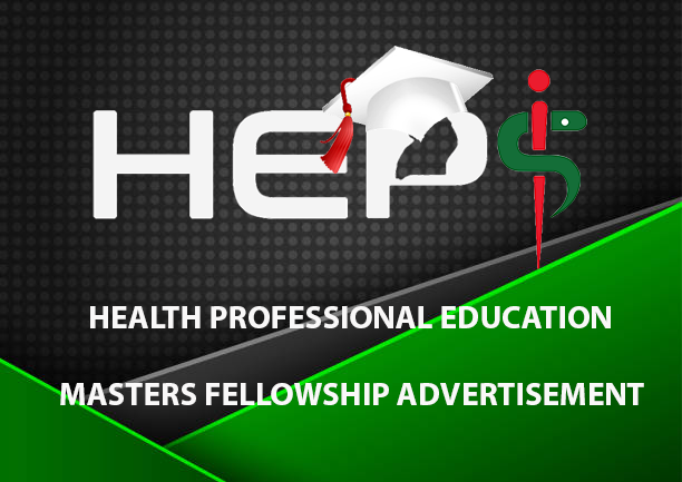 Masters in Health Professional Education (HPE) fellowship support