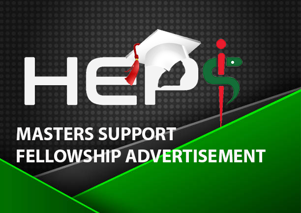 Masters Support Fellowship Advertisement