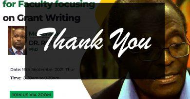 Webinar on Grant Writing-Recording